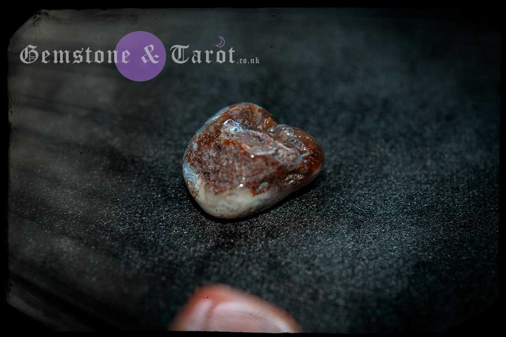 Fire Agate represents the element of fire