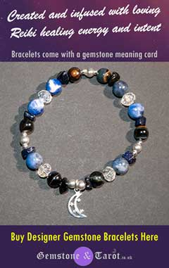 Buy Gemstone and Tarot designer gemstone bracelets on Etsy