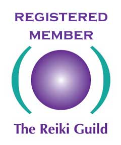 Registered member of The Reiki Guild