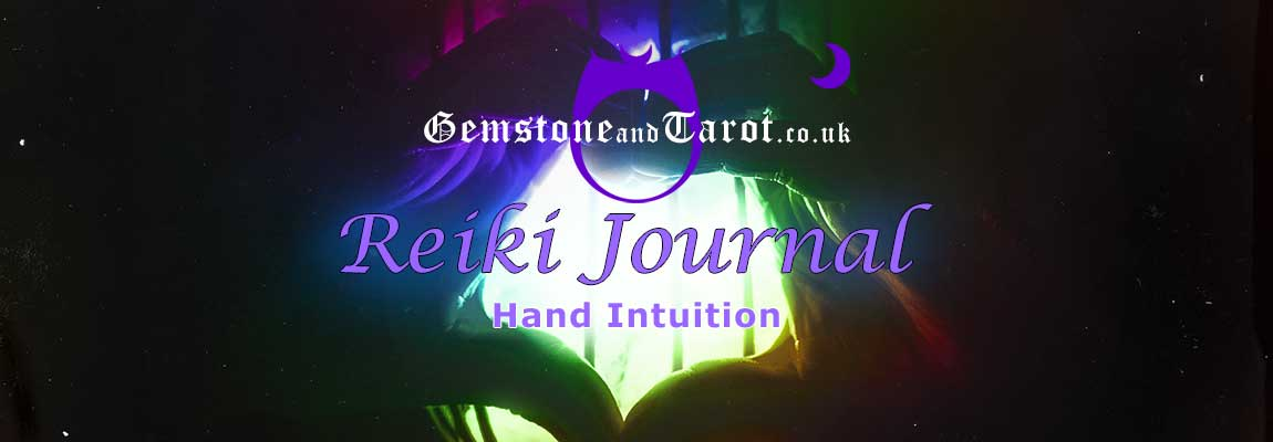 Amanda's Reiki Journal - Hand Intuition