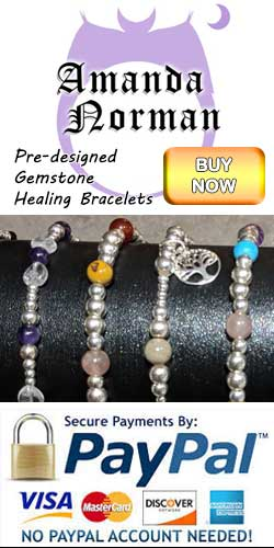 Buy pre-designed Gemstone Reiki healing bracelets from Gemstone and Tarot via Etsy