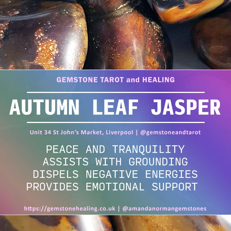 Jasper Autumn Leaf