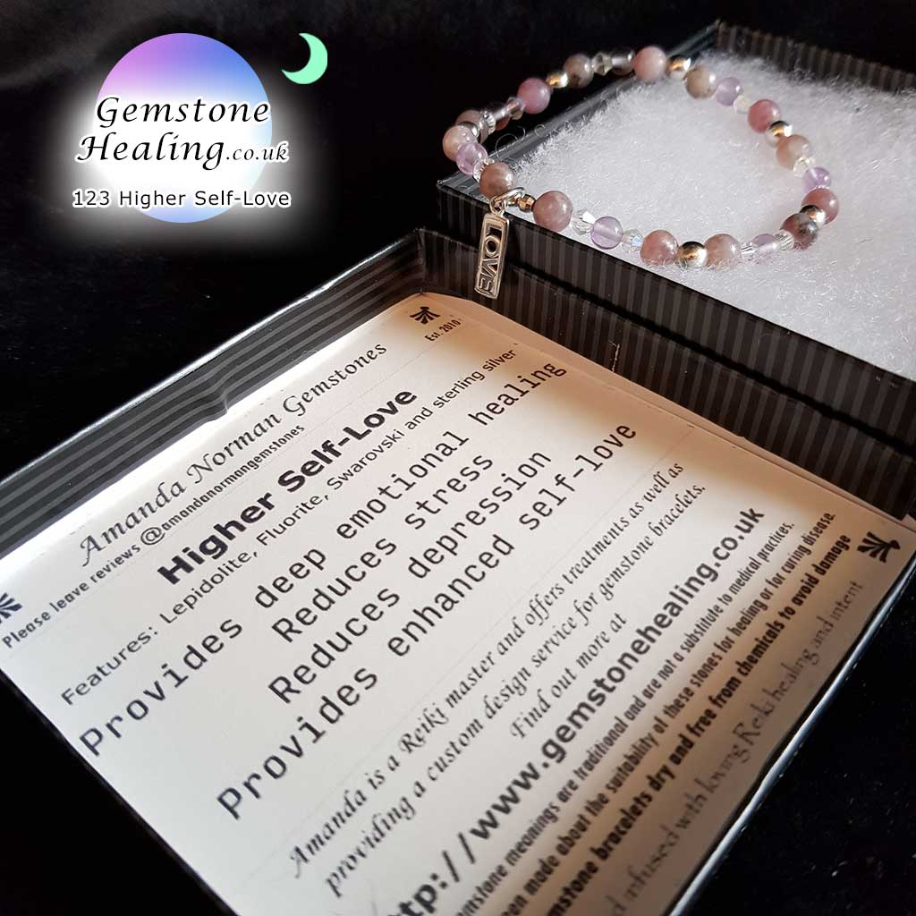 123 Self-Love Gemstone Bracelet