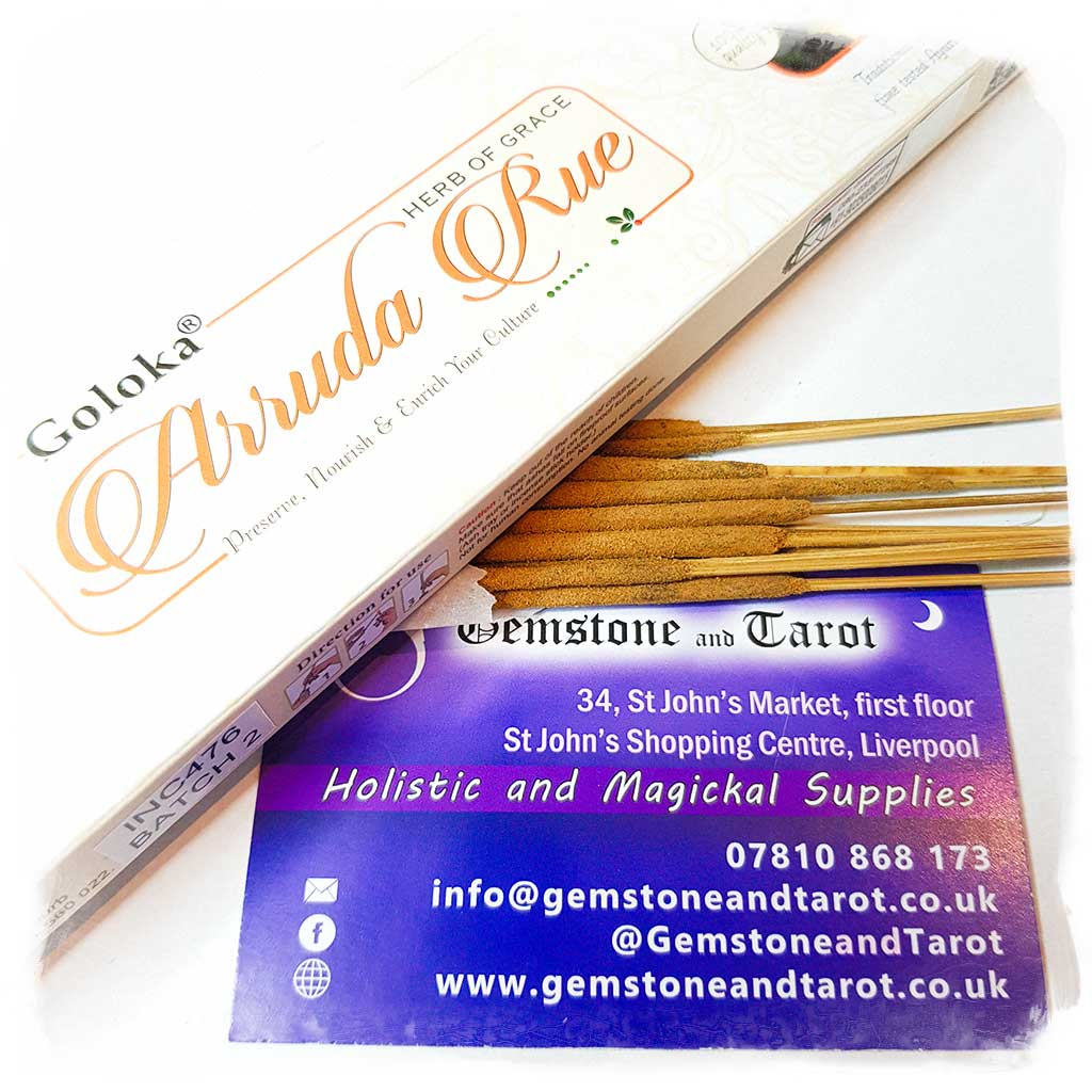 Goloka Arruda Rue Incense Sticks