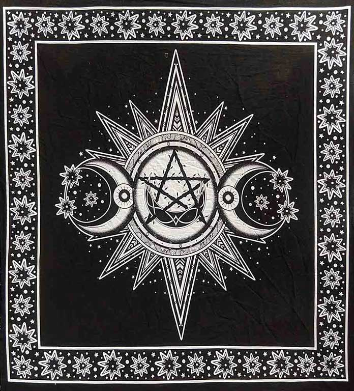 Altar Cloth Black