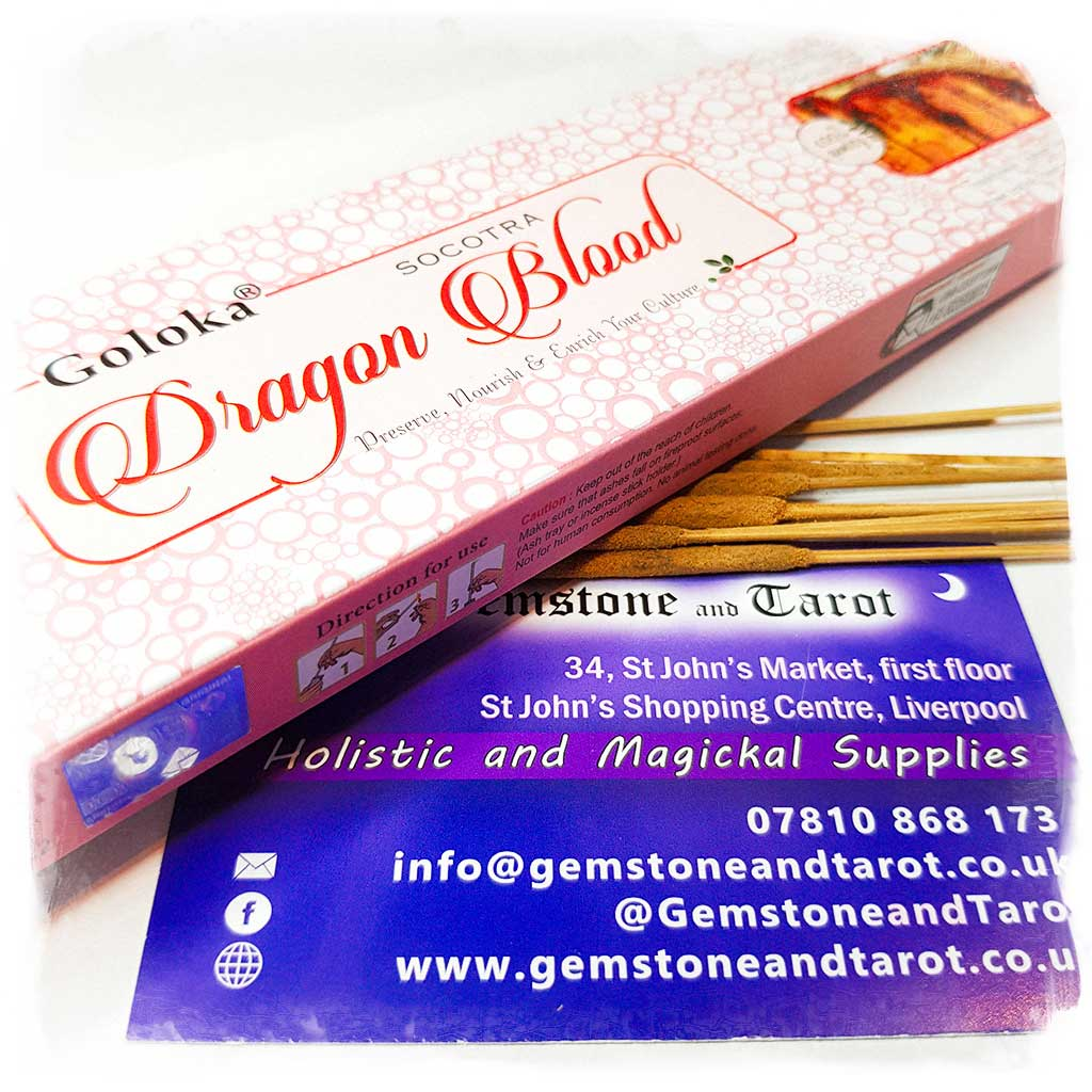 Goloka Dragons Blood Incense Sticks
