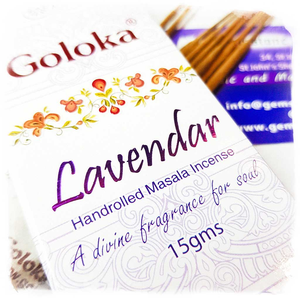 Goloka Lavender Incense Sticks