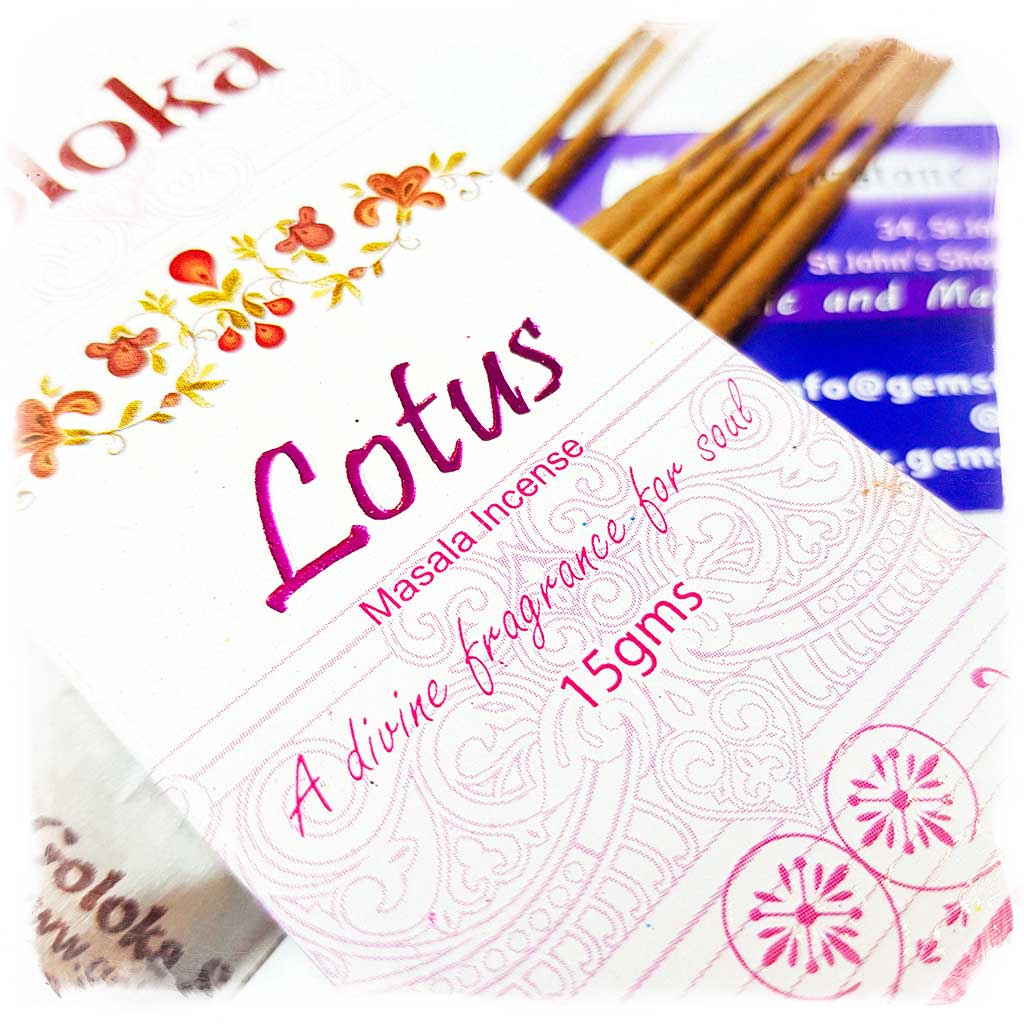 Goloka Lotus Incense Sticks