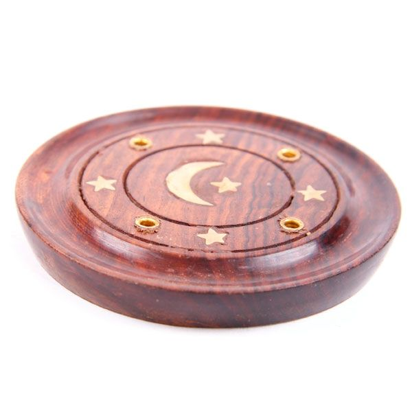 Incense Plate with Moon