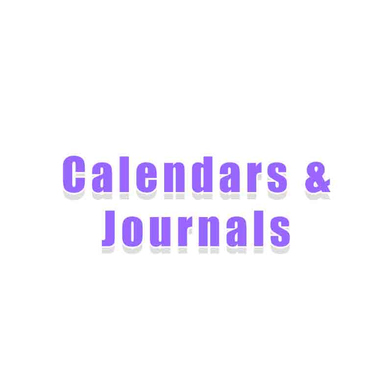Calendars and Journals