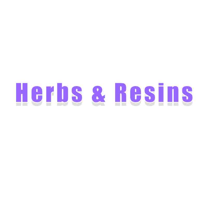 Herbs and Resin